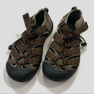 Toggle Sport Water Sandal big boy KEEN H2 Boys Black Brown 8 11 or 3 toddler